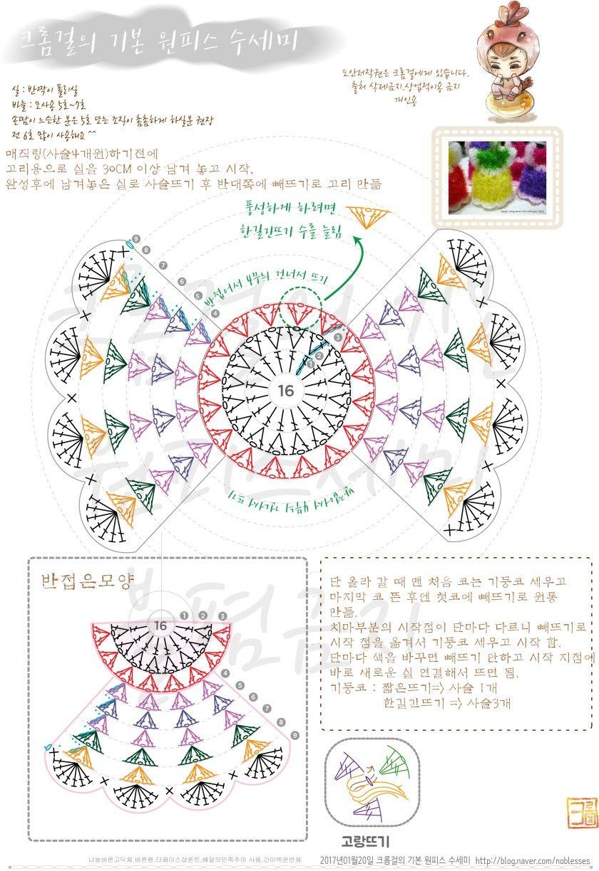 2번째 이미지 | Crochet Patterns | Pinterest | Miniaturas ...
