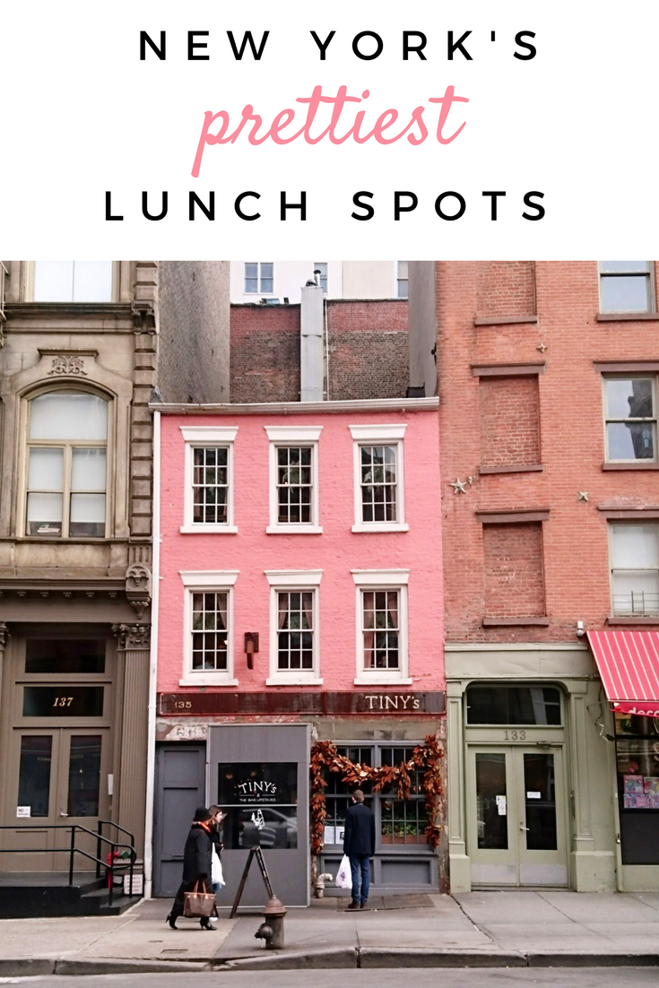 Nyc S Prettiest Restaurants For Lunch Or Brunch Viagem Nova York Iorque Dicas