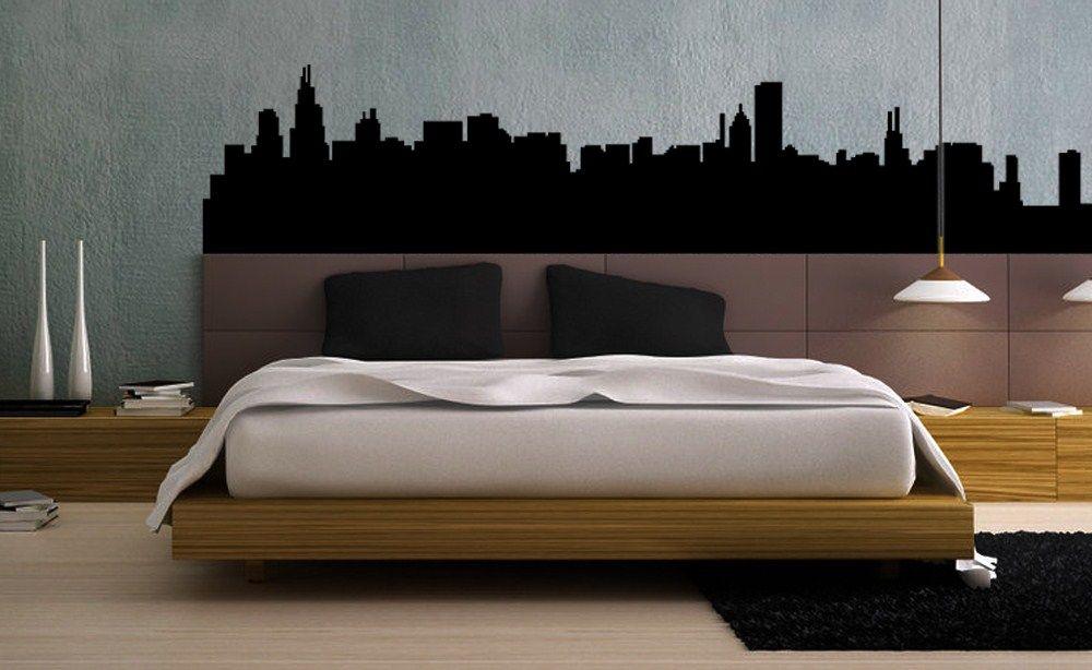 Idee per decorare la camera da letto   stickers alle pareti ...
