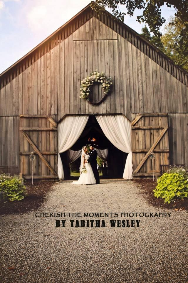 Barn Wedding Collage At The Cedar Grove In Greensburg