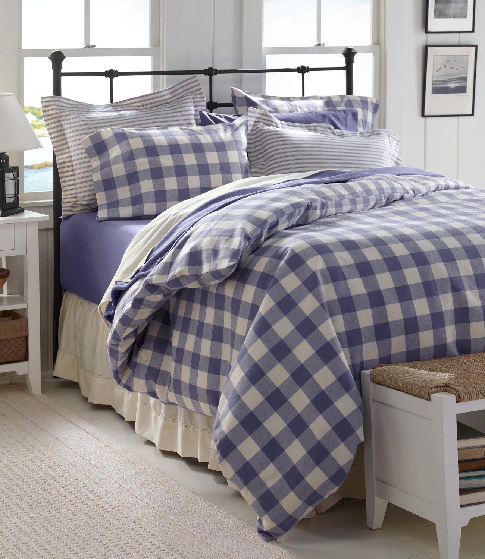 L L Bean Ultrasoft Flannel Comforter Bedrooms Amp Bedding