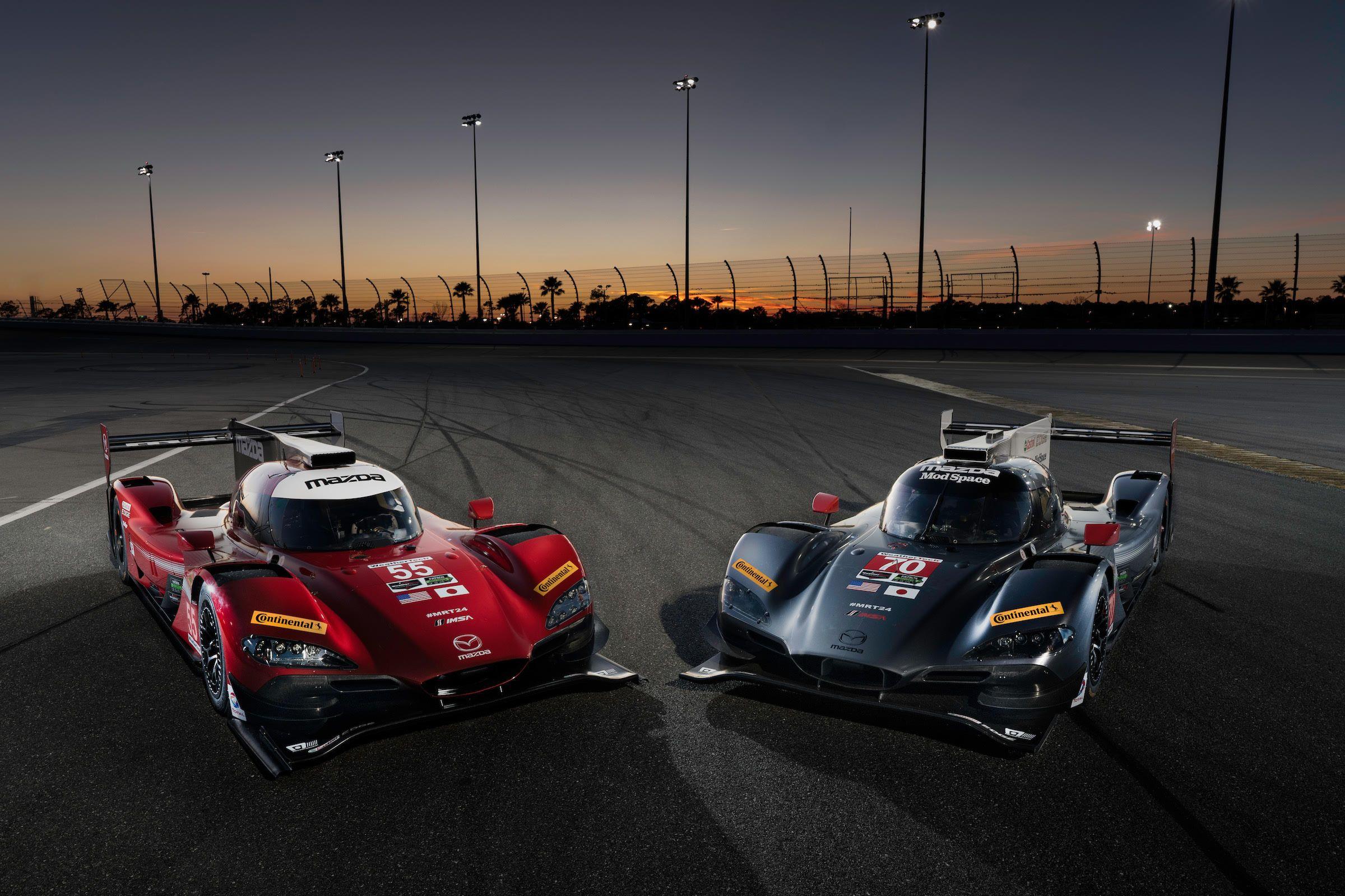 Motor 39 N Mazda Prototypes To Race Distinct Liveries In 2017 Racing Mazda Motorsport
