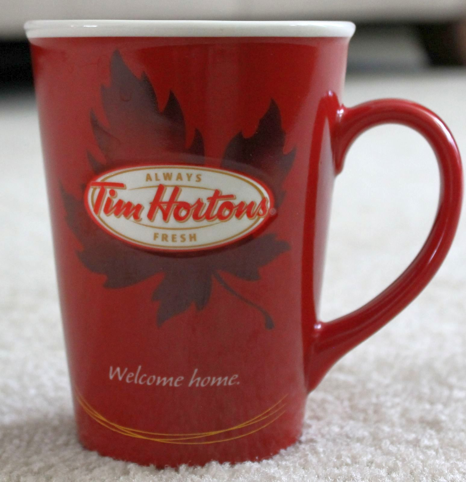 2011 Tim Hortons Horton's #011 Coffee Tea Welcome Home ...