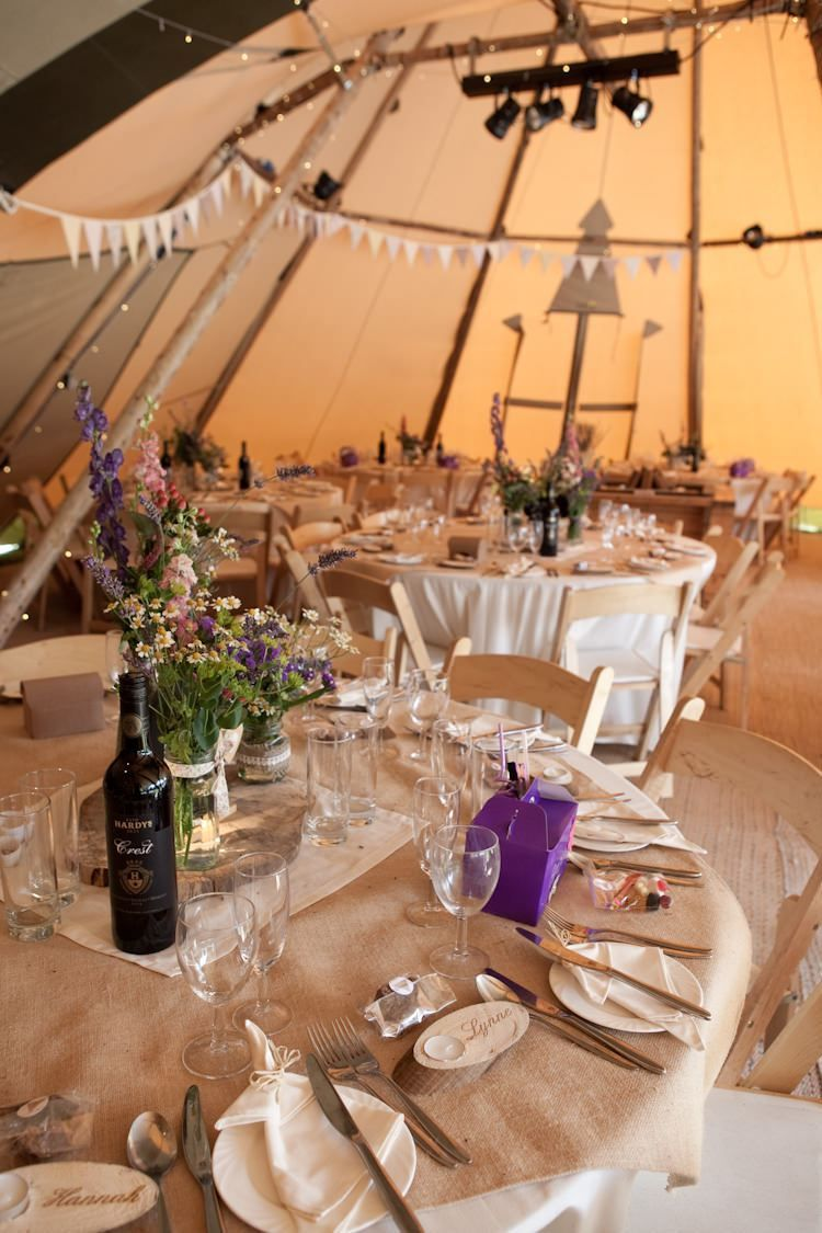 Wedding decorations at home  Festival Farm Tipi Wedding emmastonerweddings  Tipi