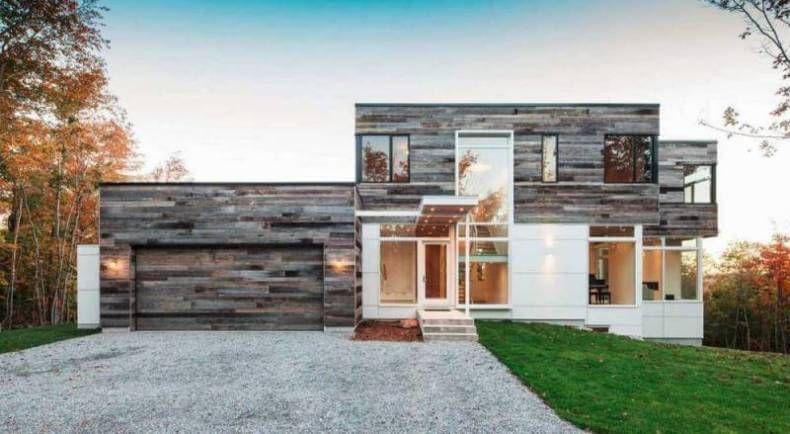 6 Best House Siding Materials Modern House Exterior Modern Exterior Wooden House Design
