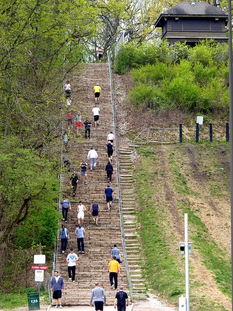 Those healthy suburbanites swallow cliff stairs recent photos the commons getty collection galleries world map app gumiabroncs Images