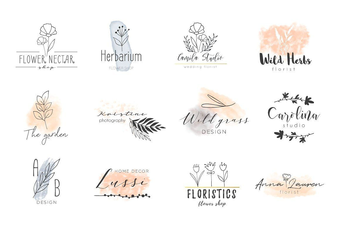 Floral Scent LOGO CREATOR Floral scent, The creator, Floral