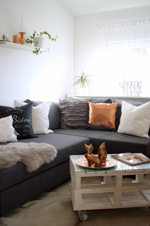 6 Das Beste Von Kupfer Deko Wohnzimmer  Living room wall designs
