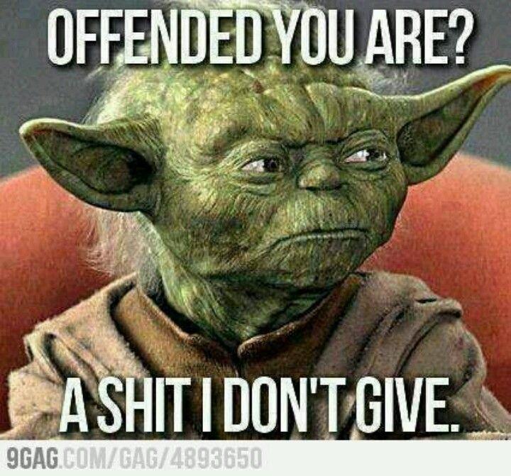 Yoda ... Love him I do.