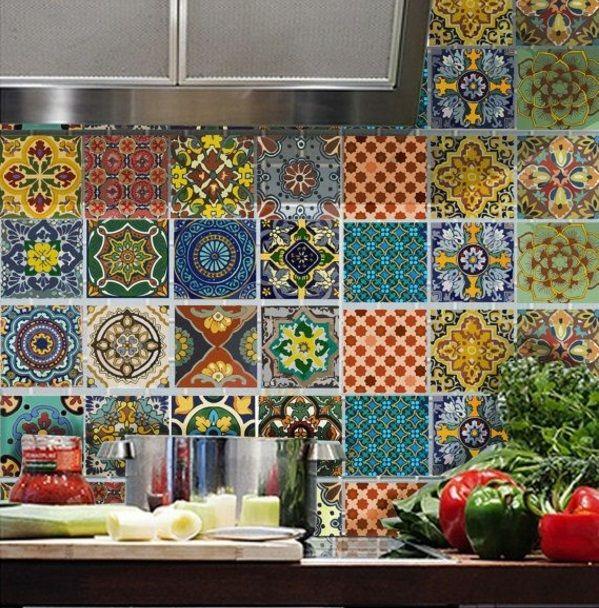 Wandfliesen Küche - die Rückwand spielt eine wichtige Rolle ...