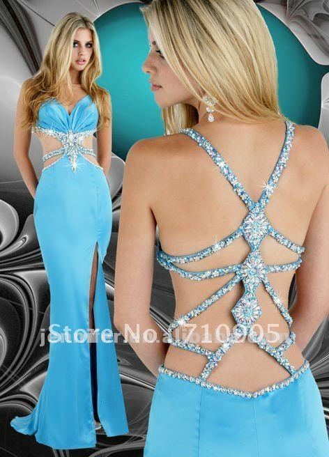 backless prom dress - Google Search