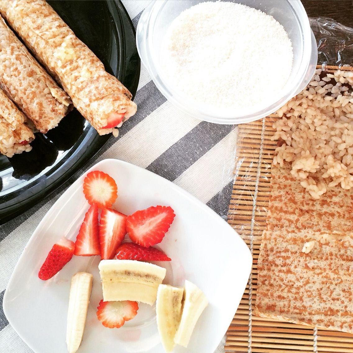Preparando #sushi dulce para esta noche... Cena nipona en familia para terminar el año! #auroravegacook