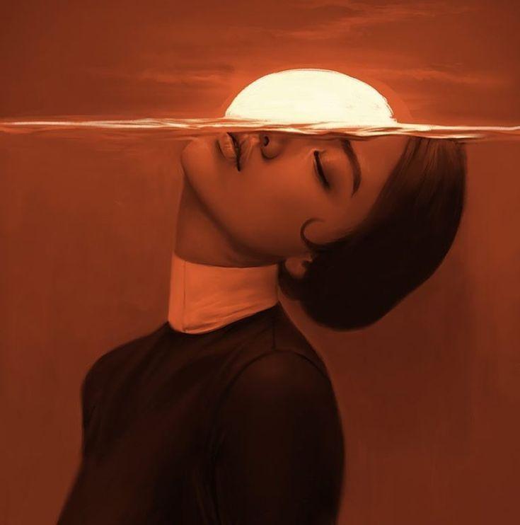 Aykut Aydogdu' Mesmerizing Illustrated Female Portraits | Trendland Online Magazine Curating the Web since 2006