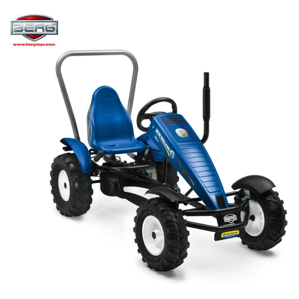 berg usa new holland bf pedal go kart riding toy since farming is hard work and being a kid is. Black Bedroom Furniture Sets. Home Design Ideas