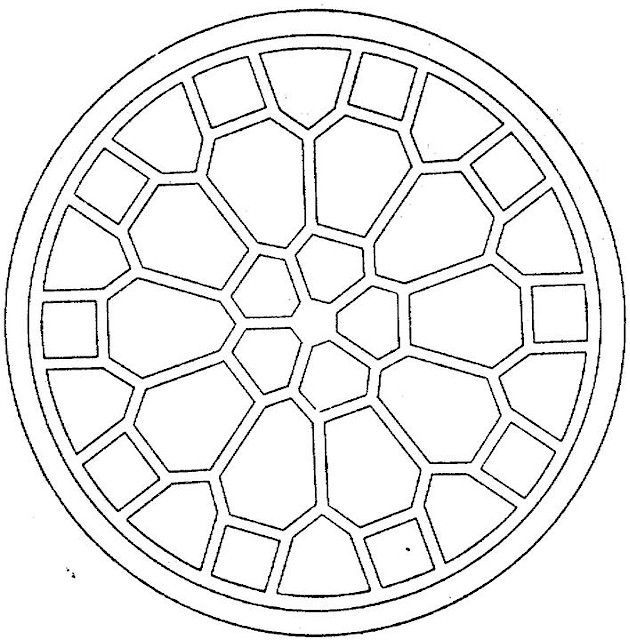 Geometric Coloring Pages (6) | Crafts | Pinterest | Coloring books ...