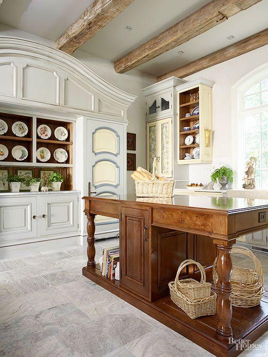 Pretty Parisian Kitchens Parisian Kitchen Replacing Kitchen Countertops Chic Kitchen