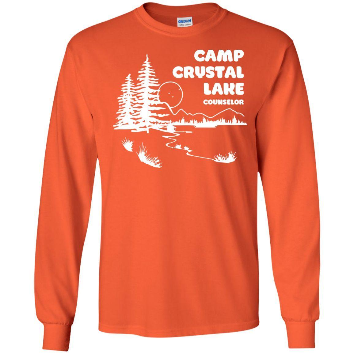 Camp Crystal Lake T-Shirt funny saying sarcastic movie humor (2)-01 LS Ultra Cotton Tshirt