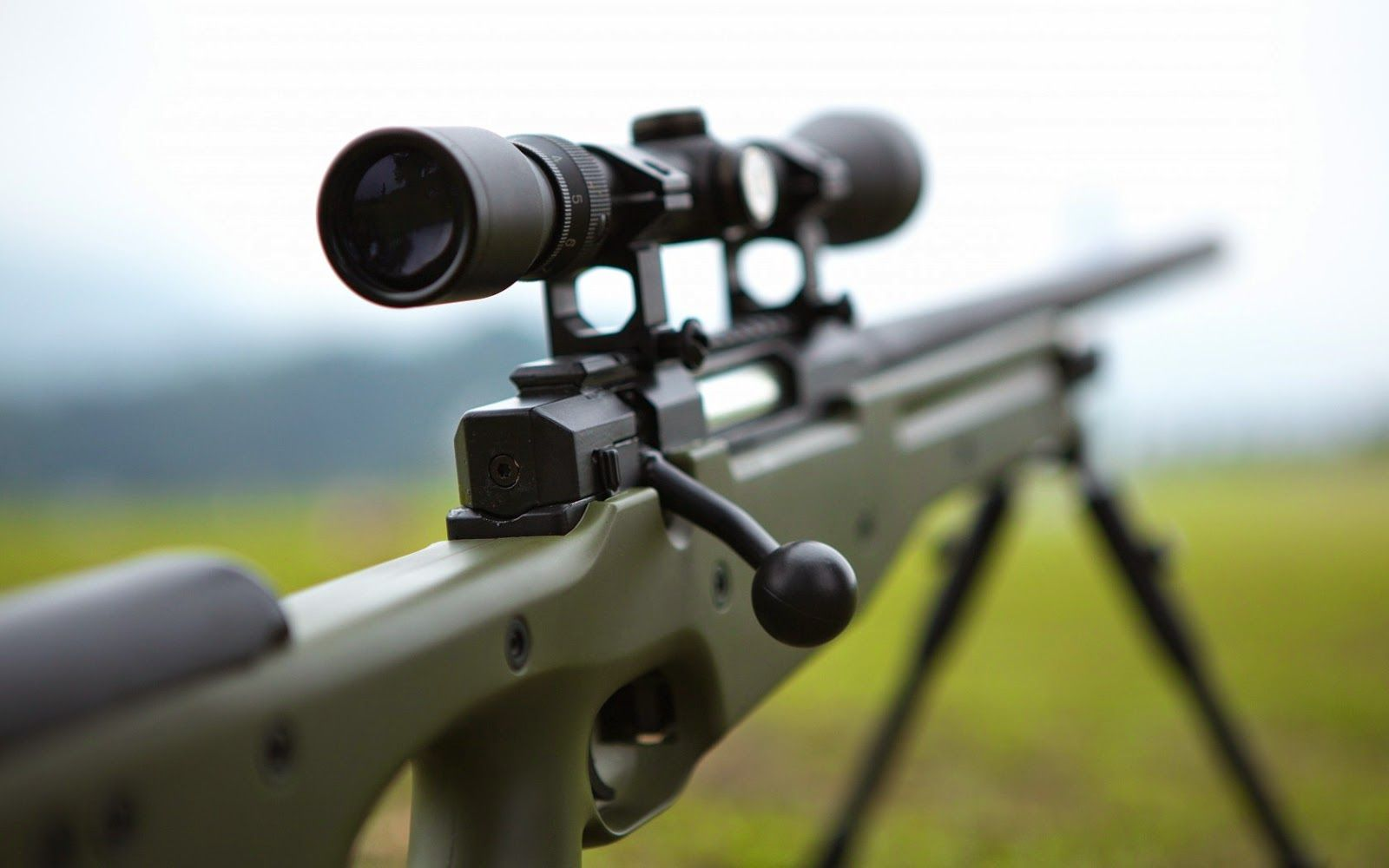 AWP HD Sniper Rifle Wallpaper