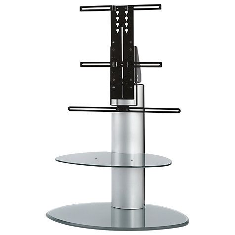 Off The Wall Motion Tv Soundbar Stand For Tvs Up To 55 Silver