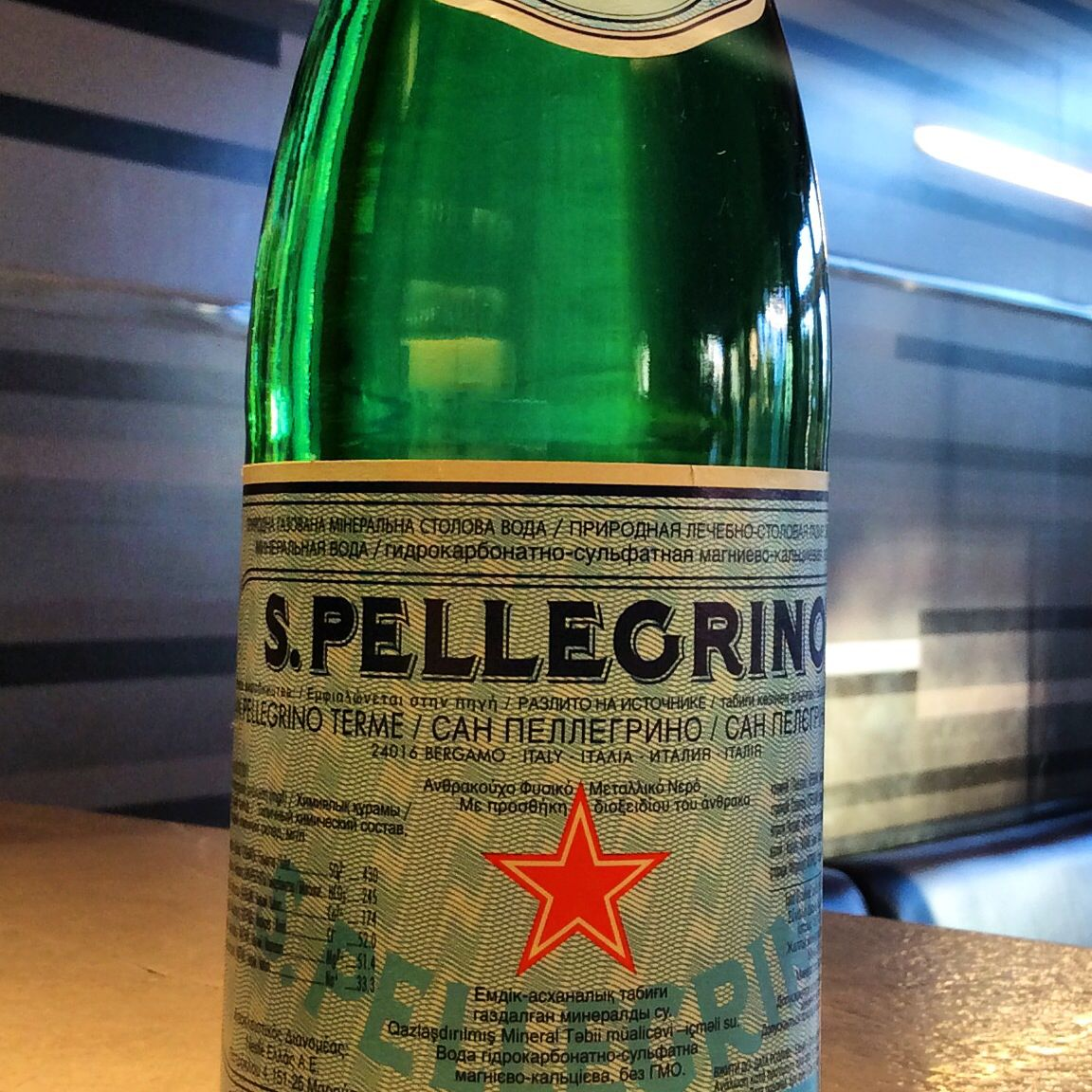 how to drink san pellegrino