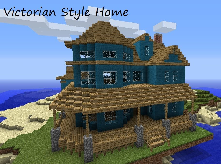 Victorian Style Home Minecraft Map