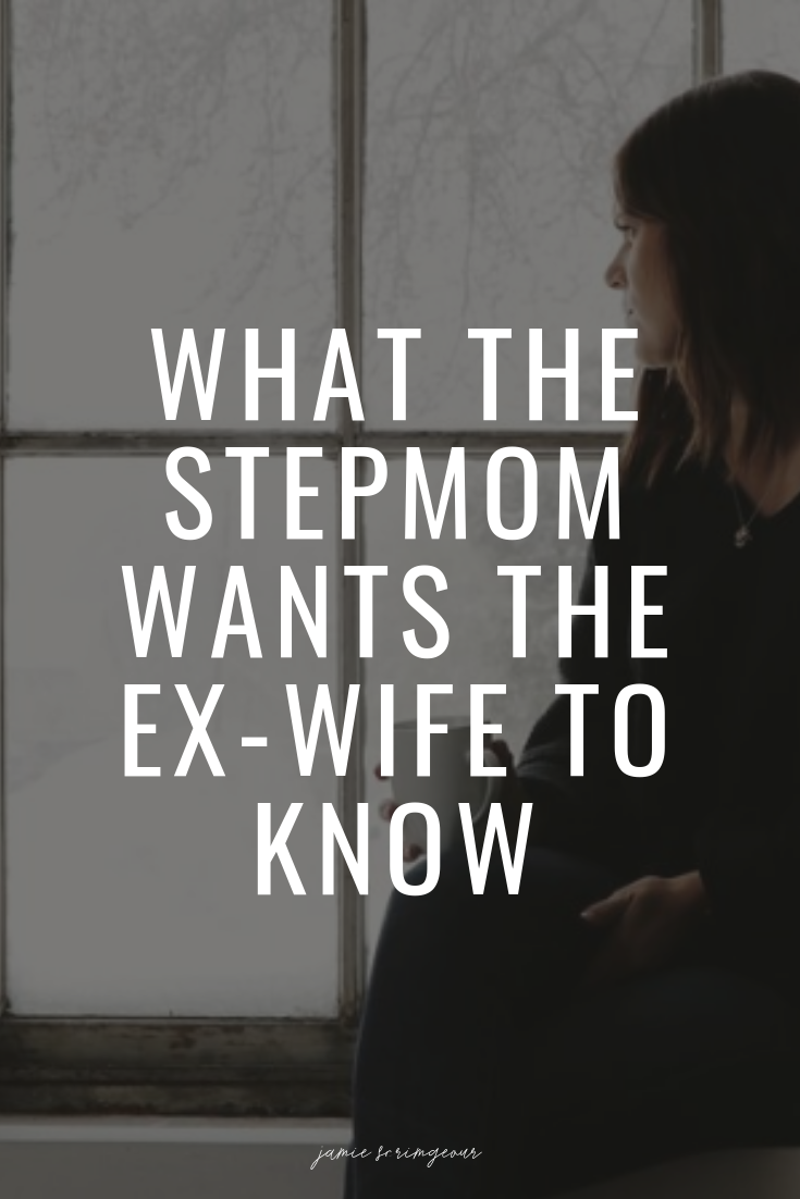 Photo of What the stepmother wants to know about the ex-wife … and what the ex-wife says back! – Jamie Scrimg …
