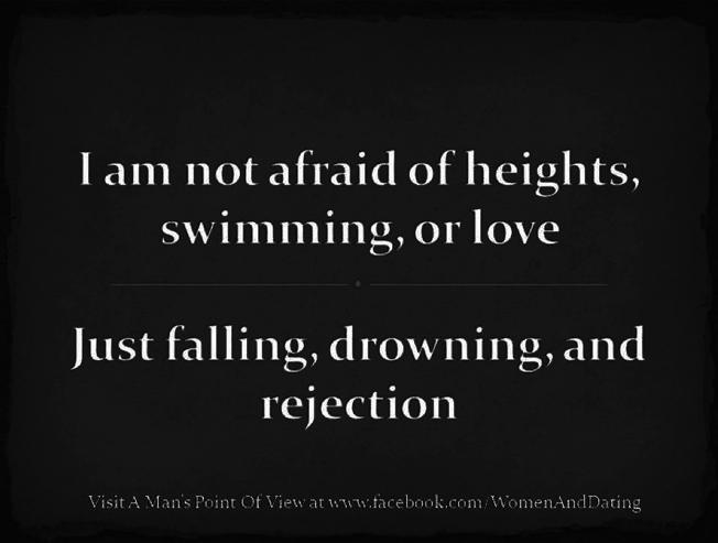 No Fear....