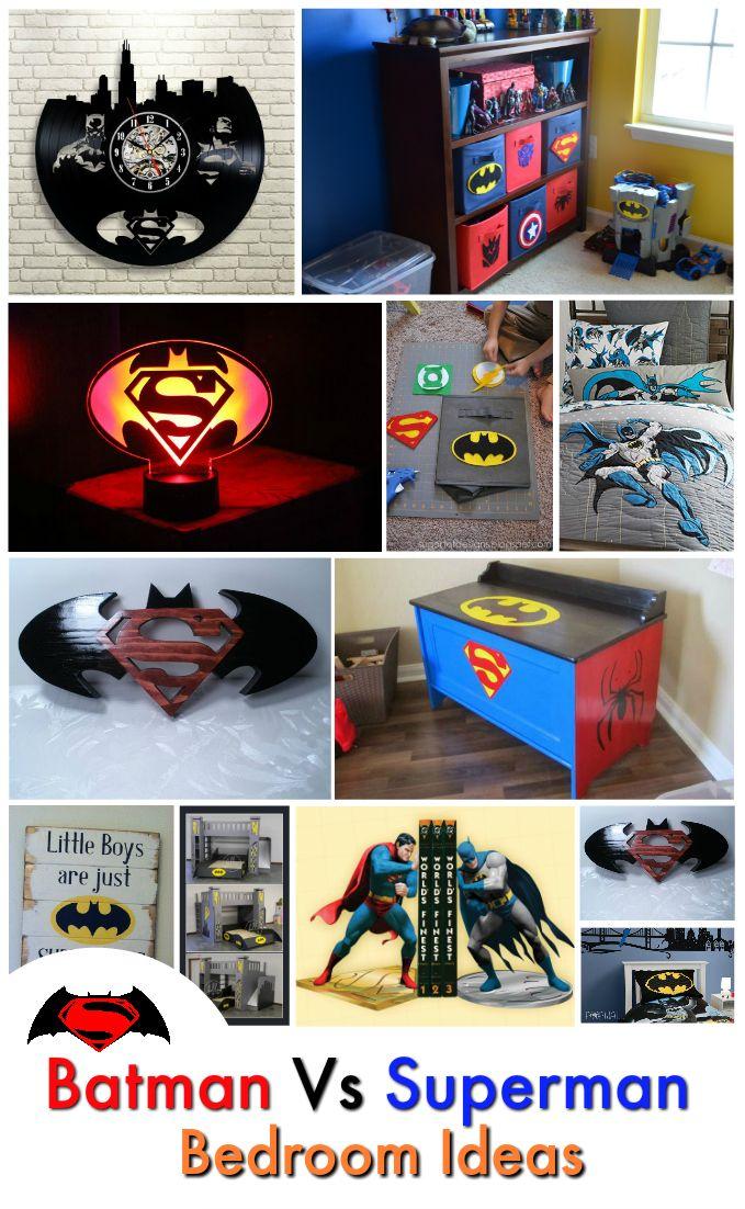 Superb Unique Batman Vs Superman Bedroom Ideas That Rock