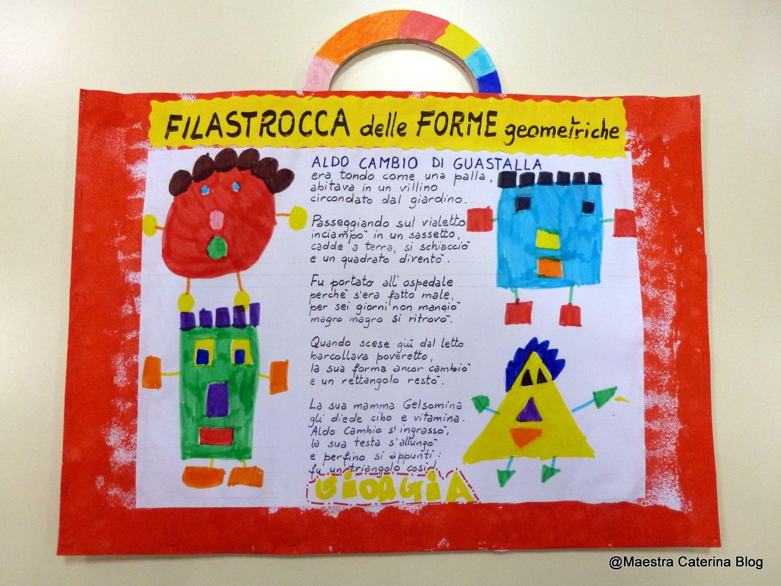 Super Maestra Caterina: Filastrocca delle Forme geometriche | matematica  XI12