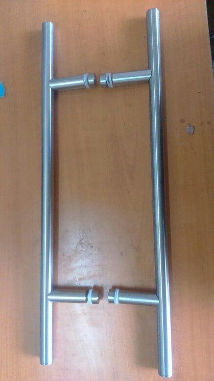 Tiradores para puertas de cristal acero inoxidable - Tiradores de puertas ...