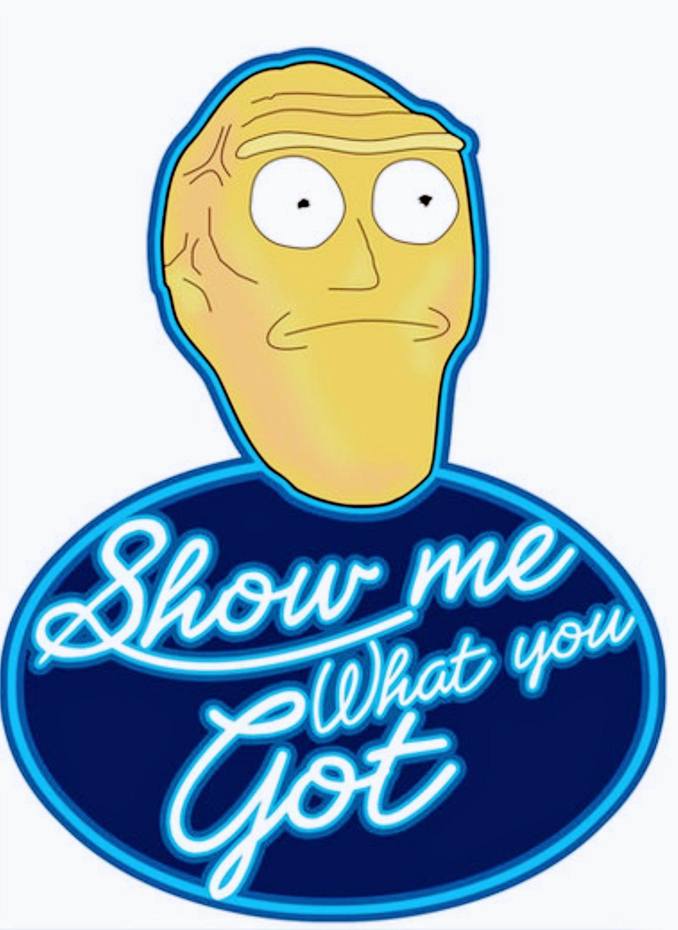 Rick And Morty Cromulon Idol