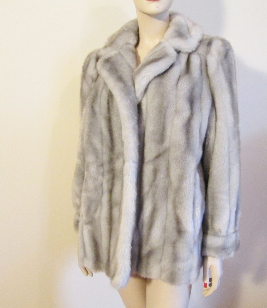 Pin By Ryan Kapke On Vintage Sold Archive Fur Coat Grey