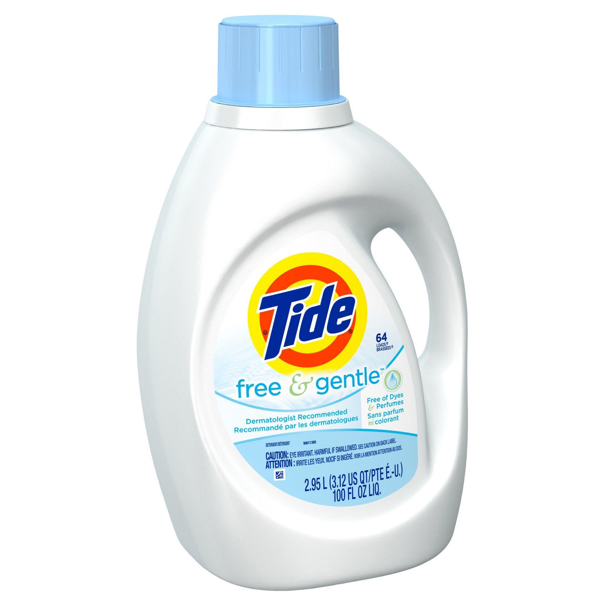 Tide Free Liquid Laundry Detergent 92 Fl Oz Laundry Liquid