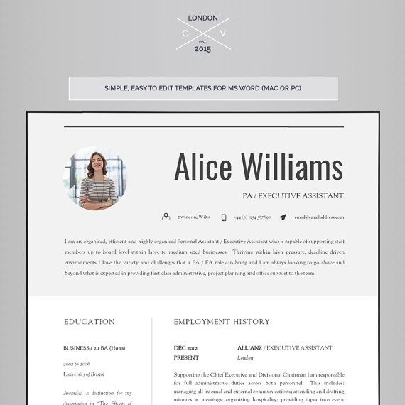 Resume Template Creative Resume Template Two Page By Introduice