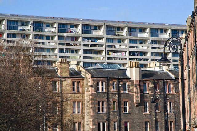 Edinburgh/Leith Daily Photo: The Banana Flats