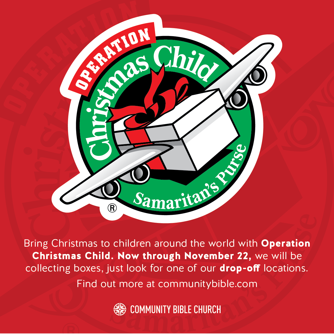 Share The Gospel And Make A Difference To Children Around The World With Operation Christmas Child Operation Christmas Child School Supplies Around The Worlds
