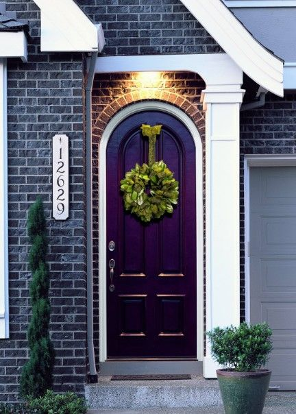 50 Best And Popular Front Door Paint Colors for 2018