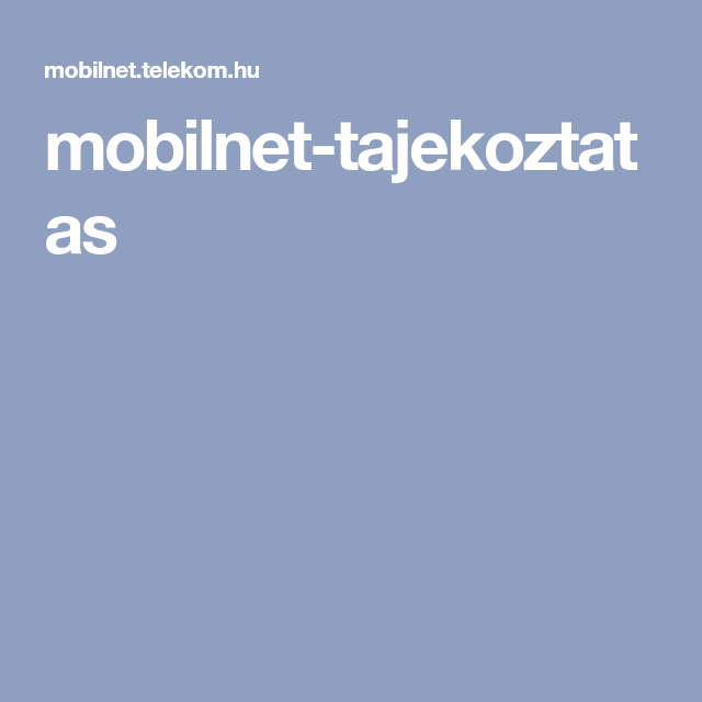 Mobilnet Tajekoztatas Boarding Pass Mobile Boarding Pass