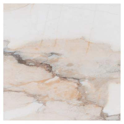 This Selene Corfu Ivory Porcelain Tile Is 24in X 24in