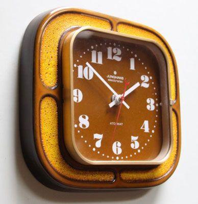 1970s Junghans wall clock on eBay