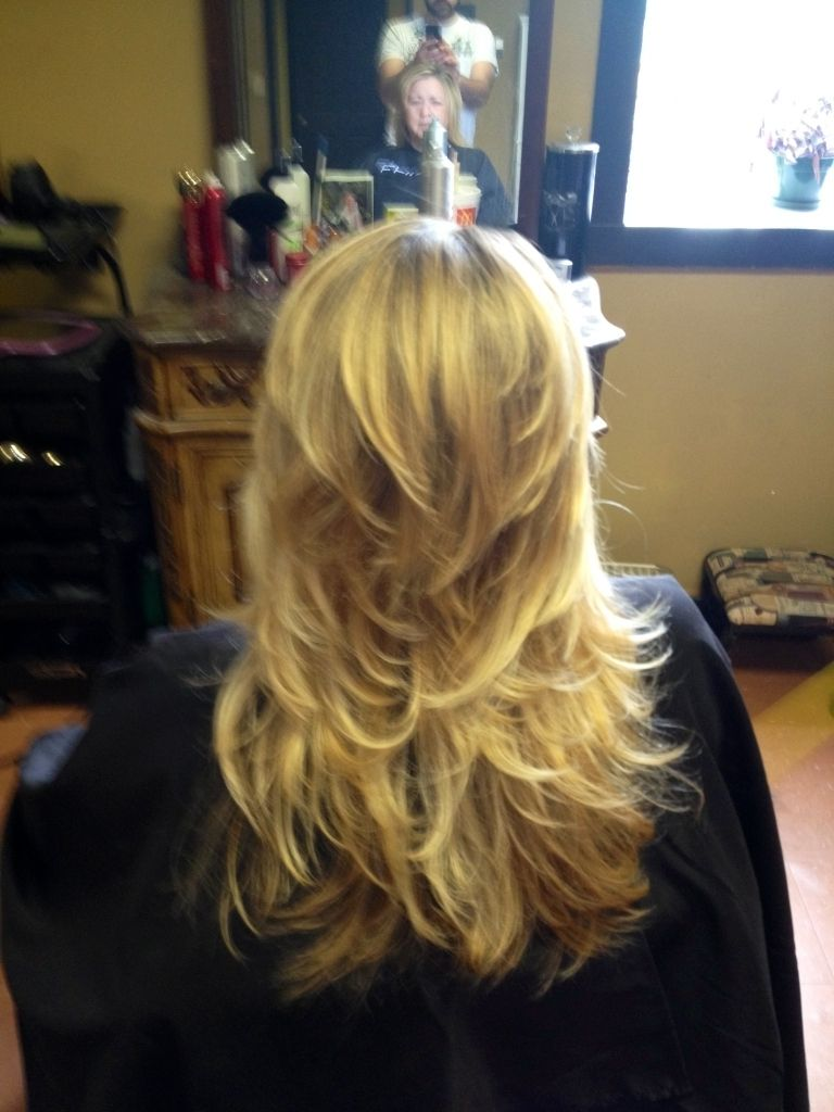 Short Layers On Long Hair Bottom And Top Hairstyles Pinterest Short Layers Long Hair Long Thin Hair Hair Styles