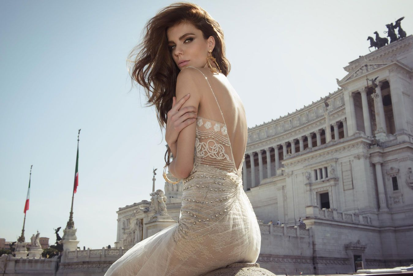 "Julie Vino Wedding Dresses 2017 Spring Bridal Collection ""Roma"""