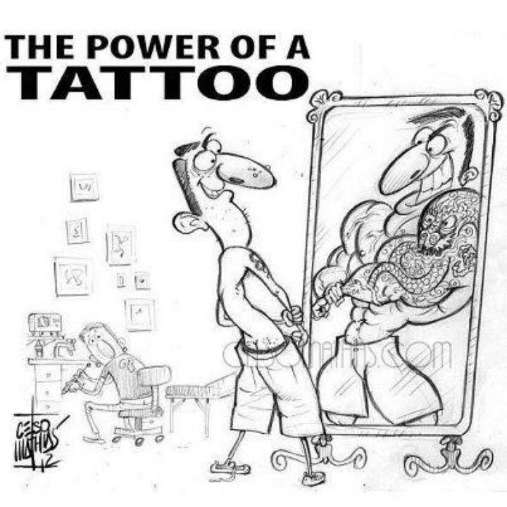 The Power Of A Tattoo Tattoo Memes Tattoo Artist Quotes Artist Memes