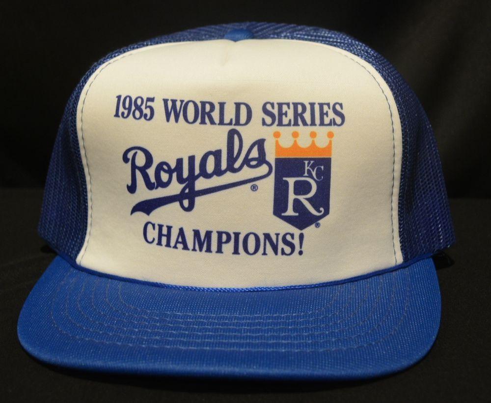 4a056489784 ... norway rare 1985 kansas city kc royals world series champion baseball  snapback hat cap kansascityroyals 87a96 ...