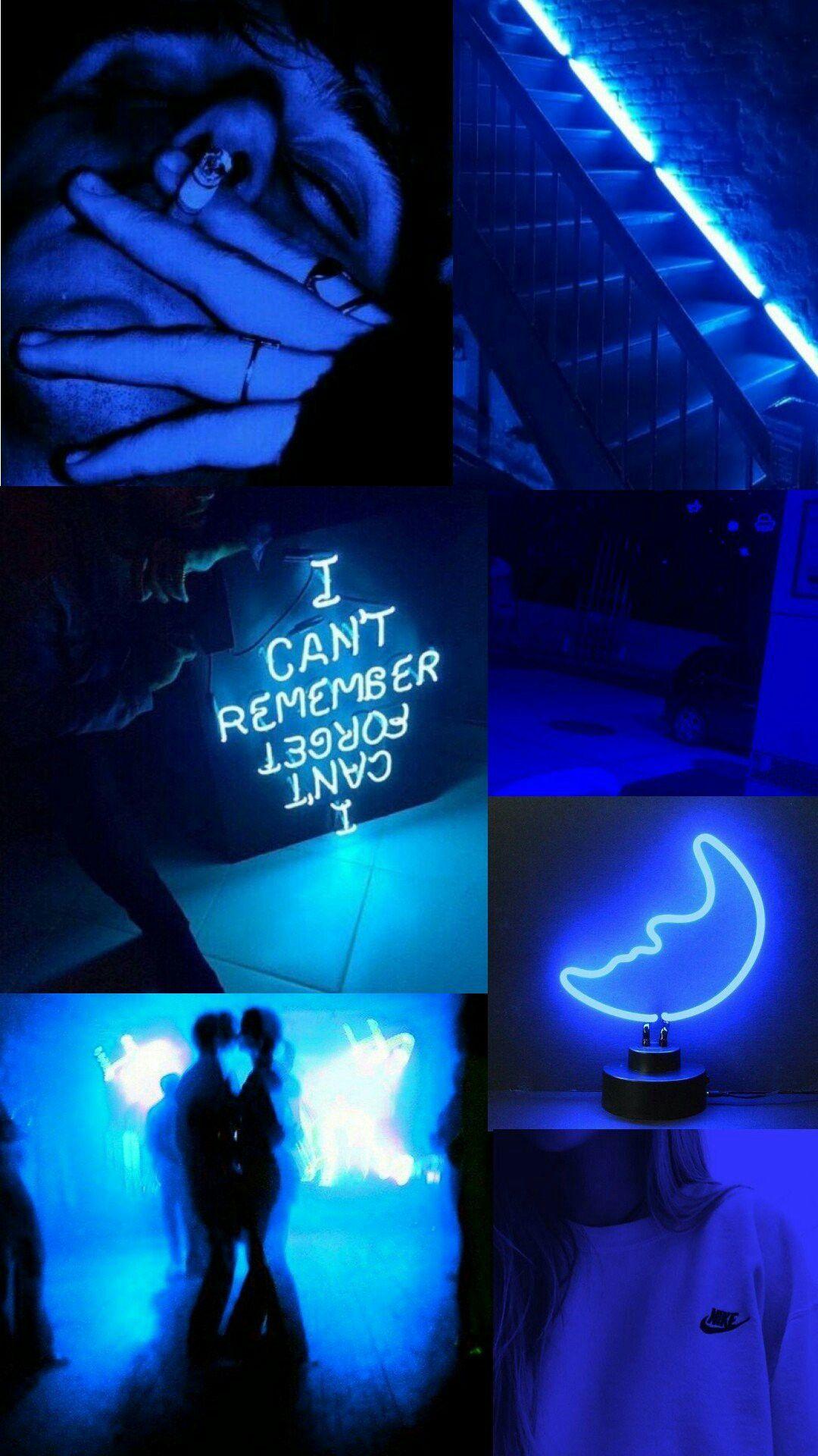 Badass Aesthetic Wallpaper Mobile Blue Aesthetic Tumblr Aesthetic Wallpapers Blue Aesthetic Dark