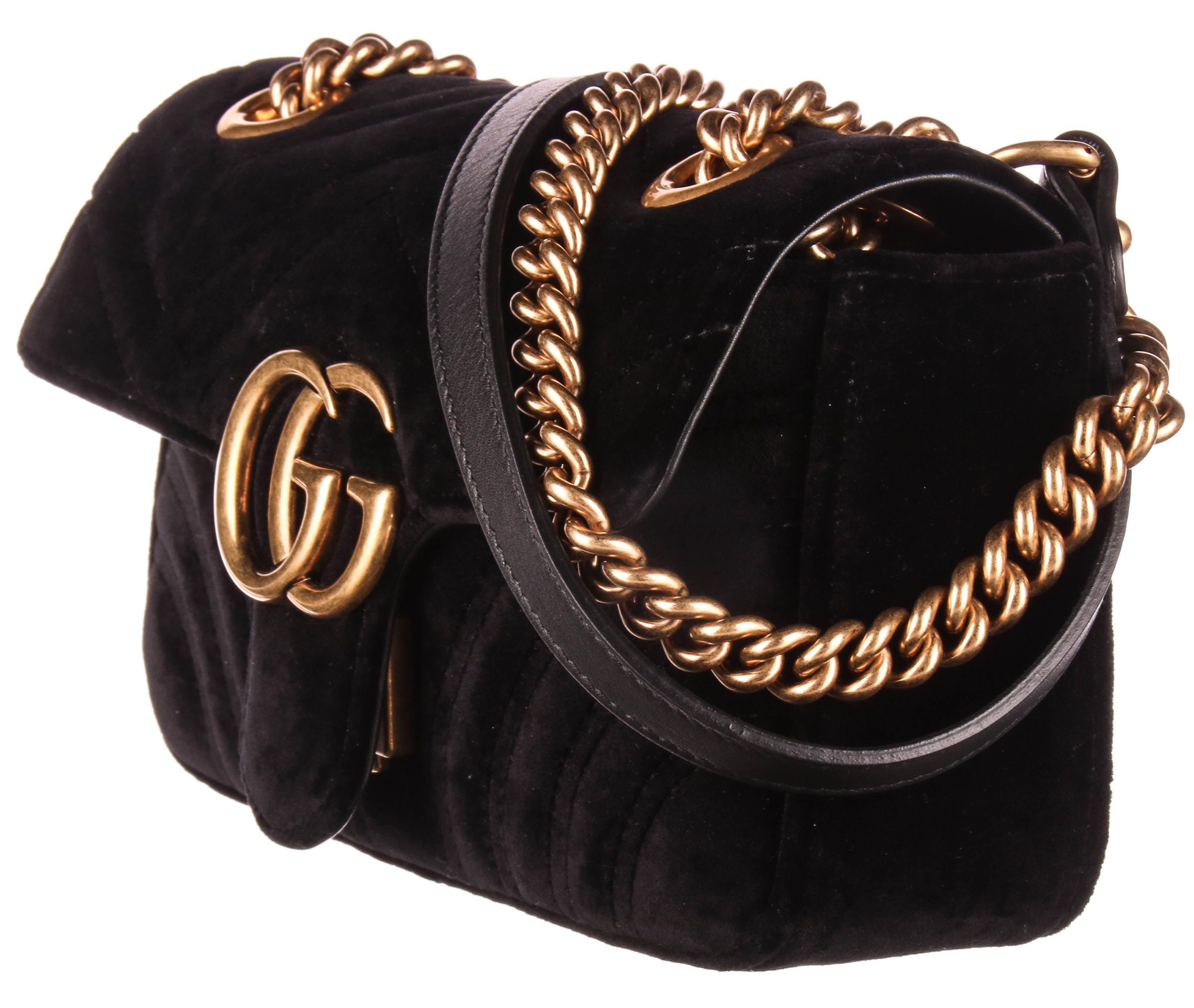 Brand Gucci Style Shoulder Gender Women S Material Velvetc