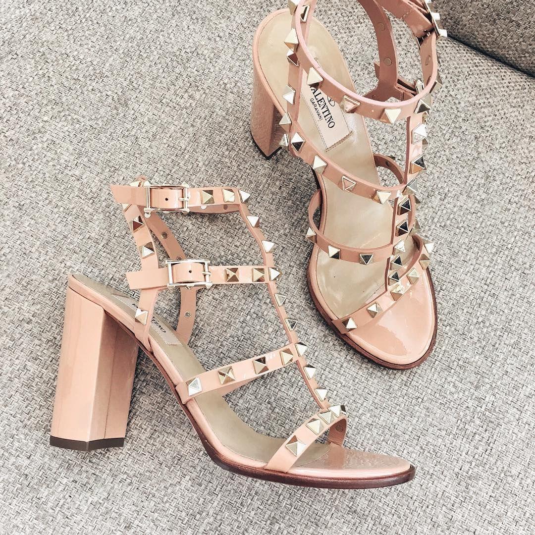 heels, Valentino rockstud sandals
