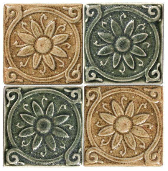 Fine 12 Ceiling Tile Huge 1200 X 1200 Floor Tiles Shaped 12X12 Interlocking Ceiling Tiles 1950S Floor Tiles Old 20X20 Ceramic Tile White4 X 4 Ceiling Tiles Handmade Daisy 3x3 Ceramic Tile Glazed In By LesperanceTile | Tile ..