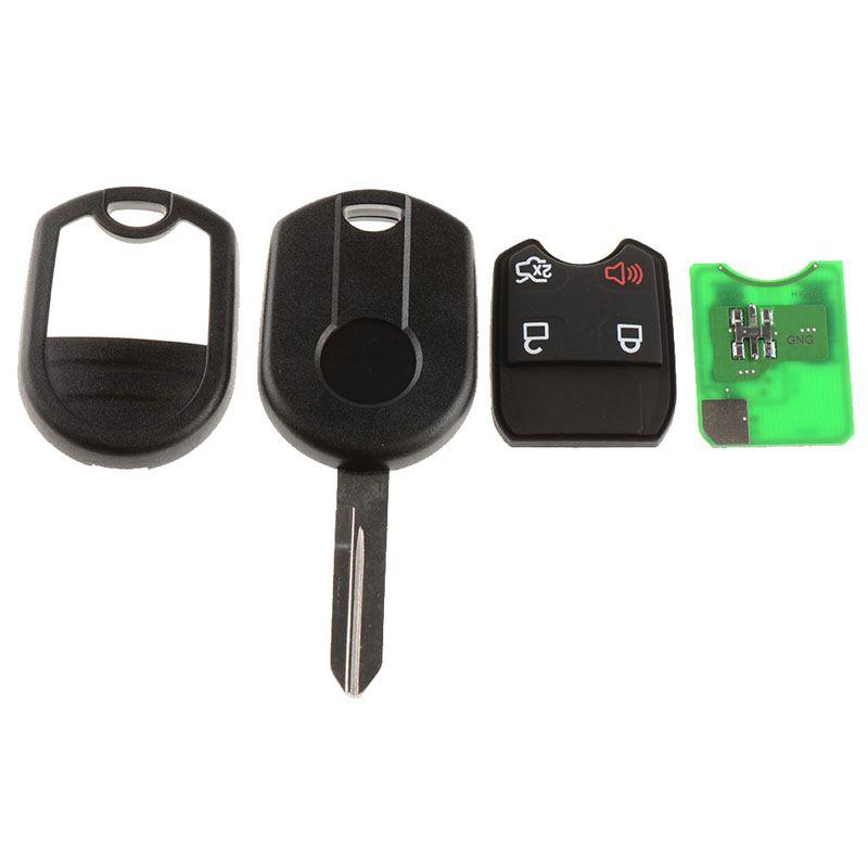 1 Piece 4 Buttons Remote Auto Key Fob Keyless Fob