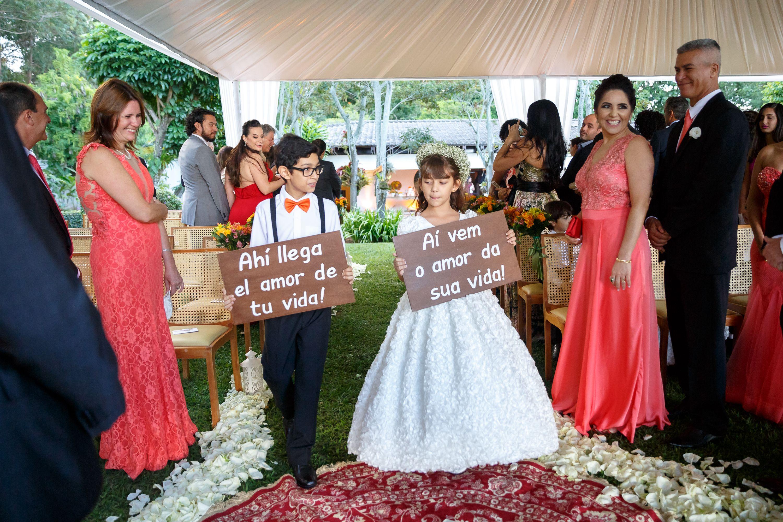 Damas De Honra Casamento No Jardim Casamento De Dia Porta